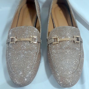 Wanted Slip-On Glitter Shoes